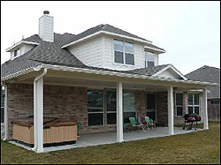 ... Hip Roof Patio Cover