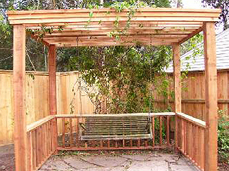 Patio Arbor, Friendswood, TX